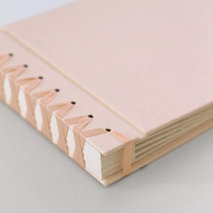 Handmade Album, Blush Silk