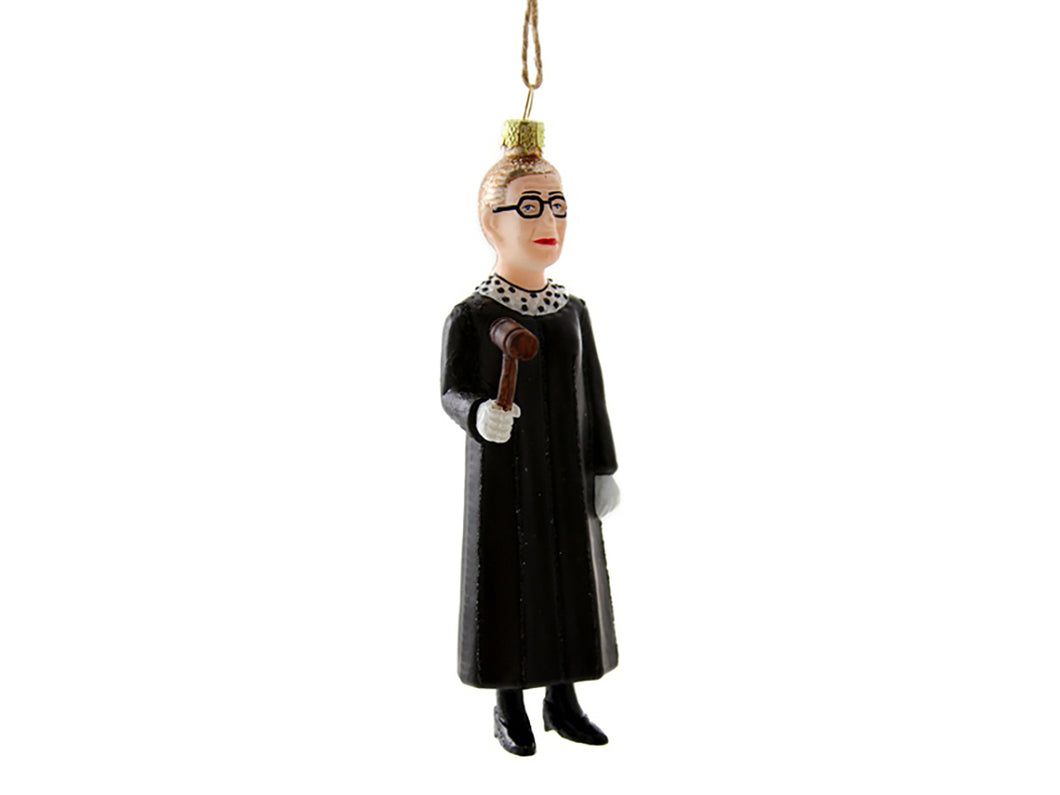 Ruth Bader Ginsburg Standing Ornament