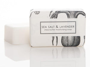 Shea Butter Bath Bar, Sea Salt and Lavender