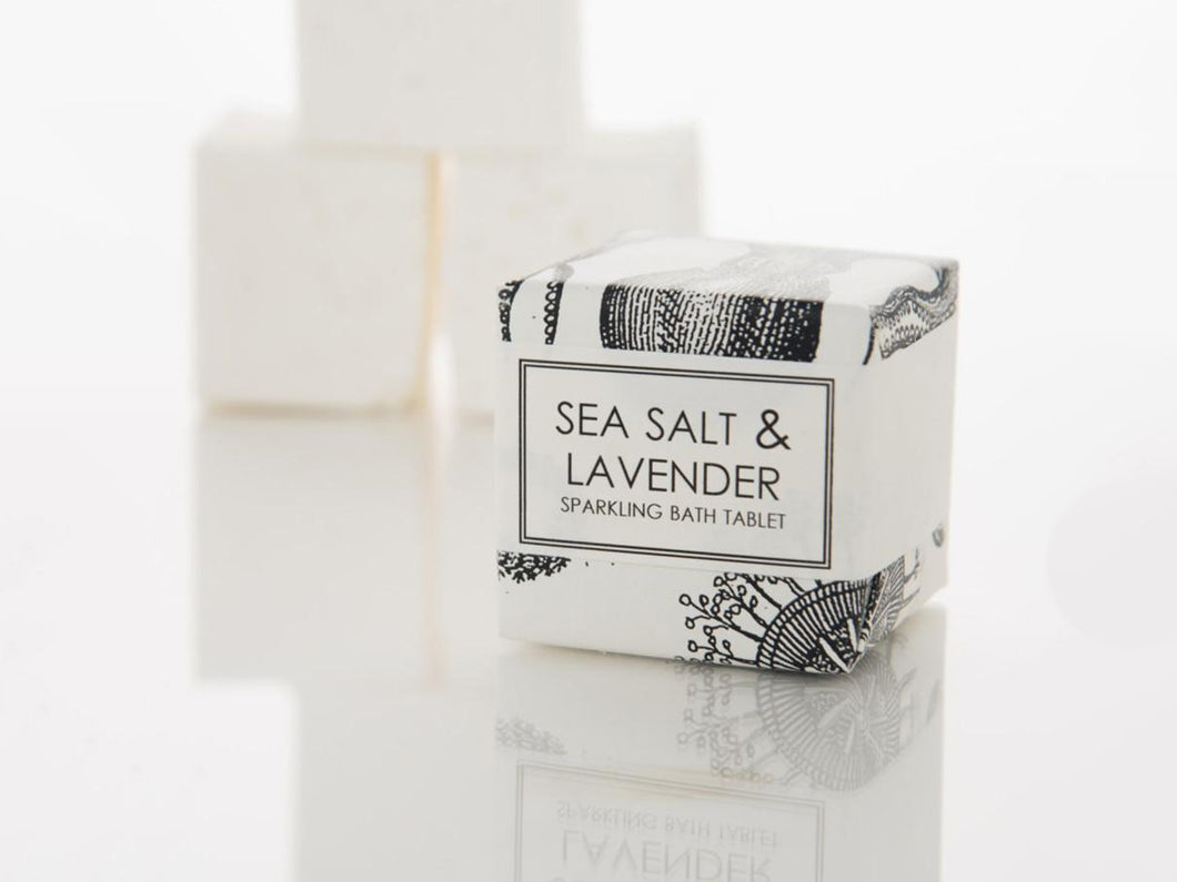 Sparkling Bath Tablet, Sea Salt and Lavender