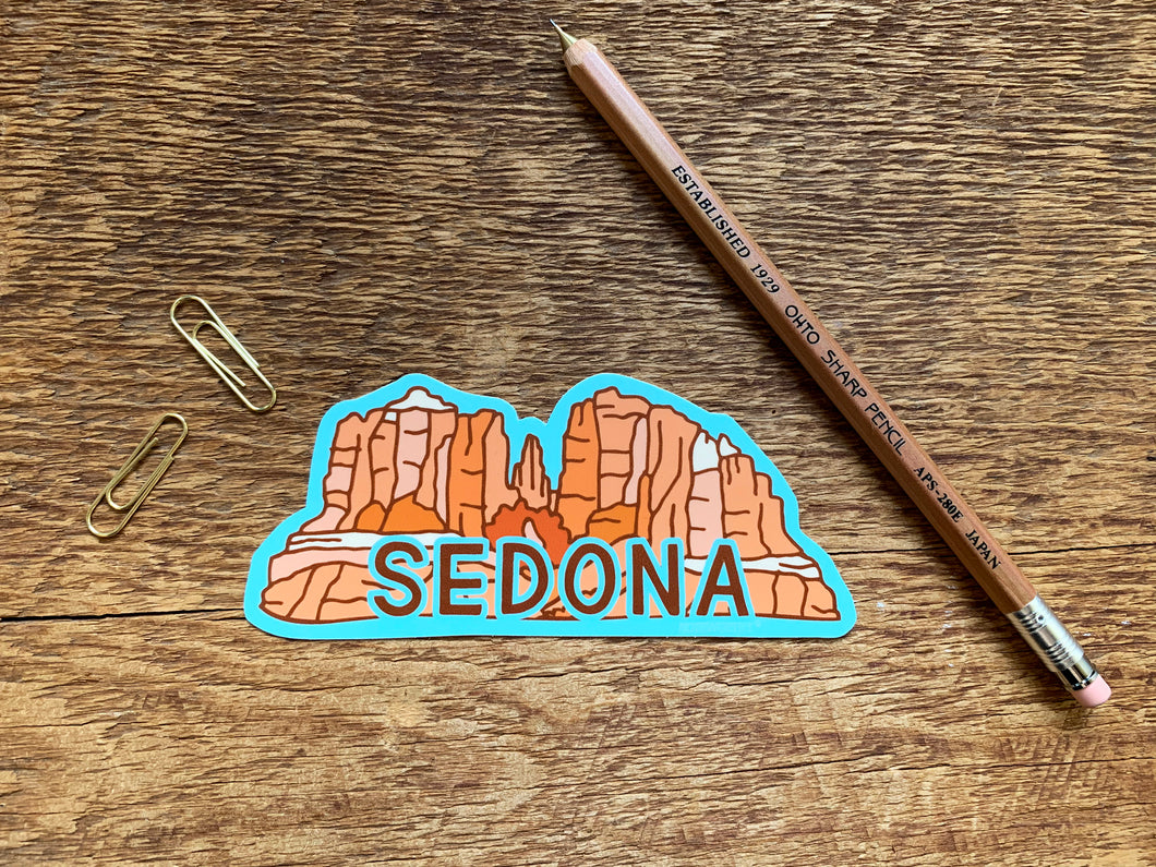 Sedona Arizona Sticker