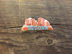 Sedona Arizona Enamel Pin