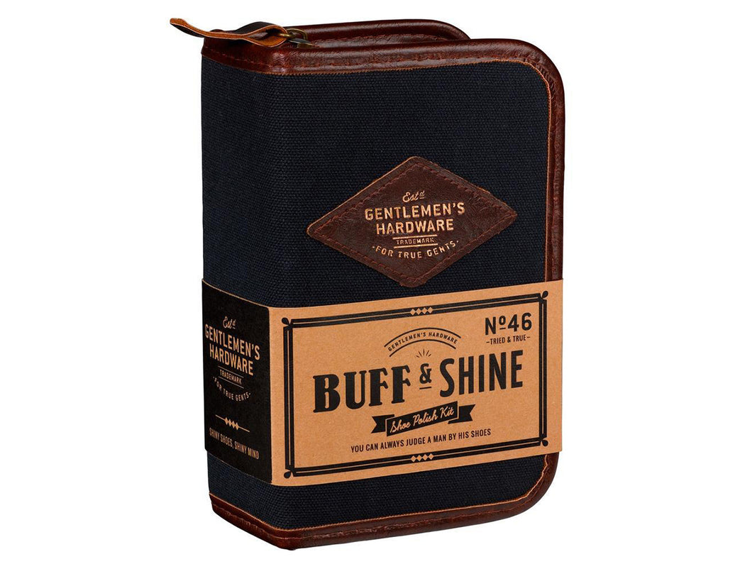 Shoe Shine Kit, Navy
