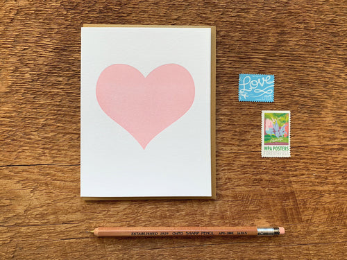 Simple Heart Greeting Card