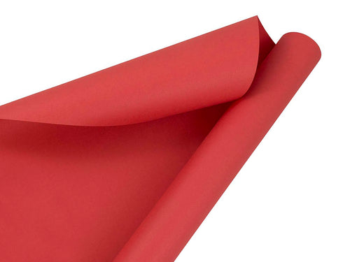 Continuous Roll Solid Color Wrapping Paper, Various Colors