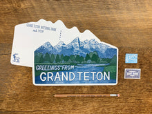 Grand Teton Range Postcard