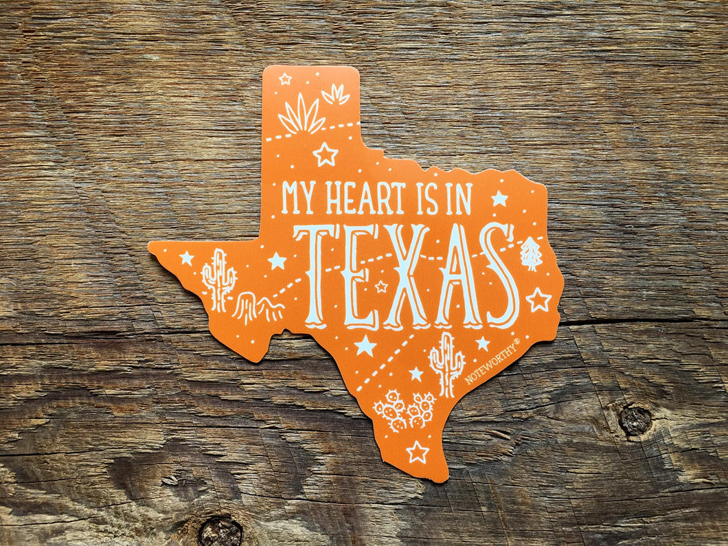 Texas State Sticker