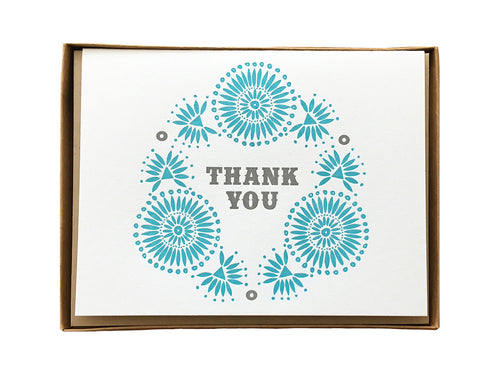 Native Thank You Greeting Card