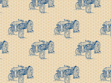 Antique Tractor Gift Wrap, Single Sheet