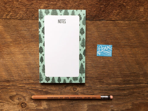 Trees Pocket Notepad