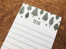 Pine Tree Notepad