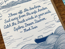 Twain Quote Greeting Card