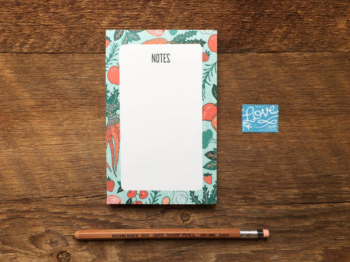 Fruit & Veggies Pocket Notepad