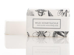 Shea Butter Bath Bar, Wild Honeysuckle