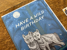 Wild Wolves Birthday Greeting Card
