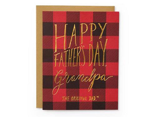 Grandpa Original Dad, Single Card