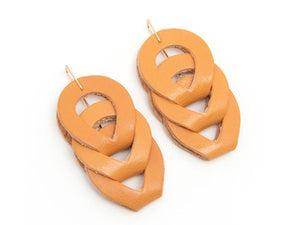 Woven in Honey, Earrings