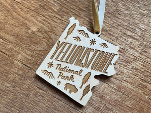 Yellowstone Ornament