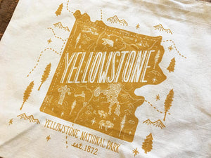 Yellowstone National Park Tote Bag