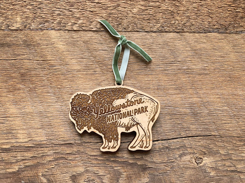 Yellowstone Bison Ornament