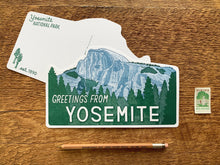 Yosemite Half Dome Postcard