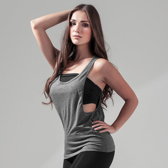 Sports Gym Workout Loose Tank Top