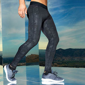 Gym Sports Training Leggings - 2 Colours