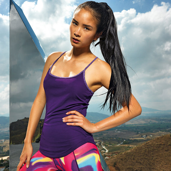 Quick Dry Sports Yoga Vest - 7 Colours