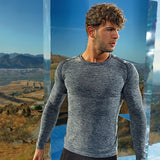 Seamless '3D fit' Multi-Sport Performance Long Sleeve Top