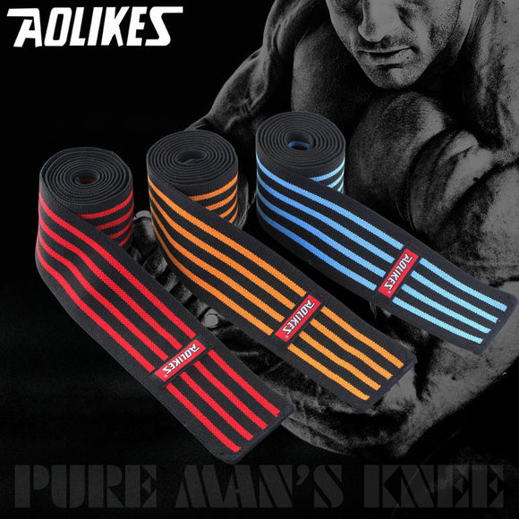 188cm Powerlifting Knee Support Wraps
