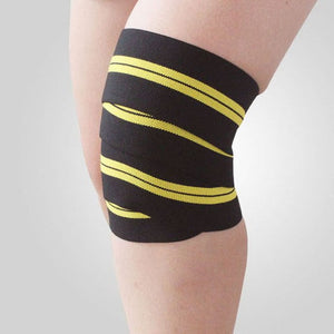 208cm Powerlifting Knee Support Wraps