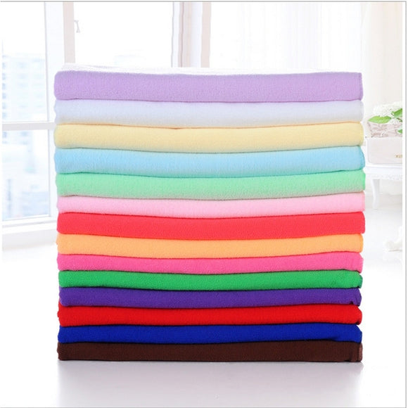 Extra Large 140x70cm Supersoft Microfiber Quick Dry Sports Towel - 13 Colours