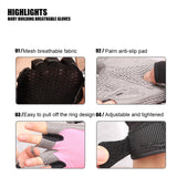 Anti-slip Gym Sports Fitness Weight Lifting Gloves - 4 Colours