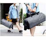 50L Capacity Men / Womens Sports Bag with Shoes Storage