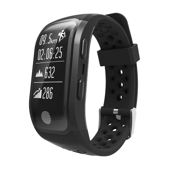 Waterproof Sports and Fitness Tracker with Heart Rate Monitor - 3 Colours