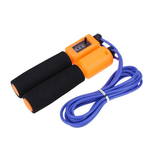 Adjustable Skipping Rope with Electronic Counter