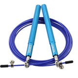 Aluminium Handle Adjustable Steel Wire Skipping Rope - 3 Colours