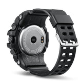 Waterproof Smart Sport Watch with OLED Display, Heart Rate Monitor, Push Message, Call, Reminders