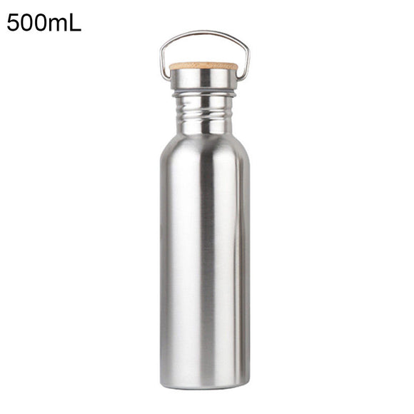 500ml Capacity Stainless Steel Sports Water Bottle