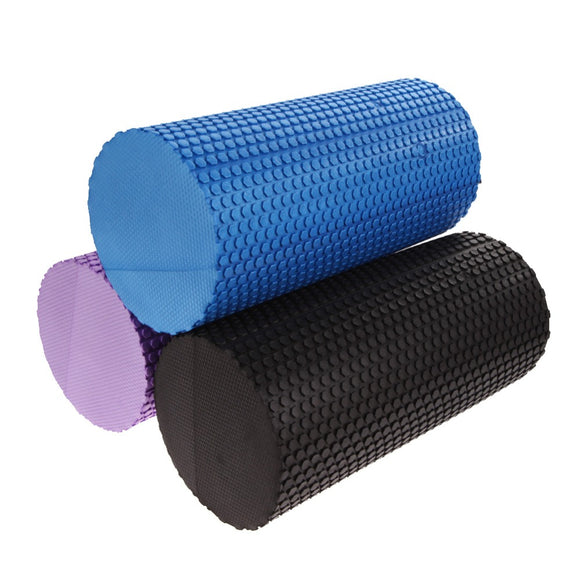 30x14.2cm Foam Roller for Massage, Trigger Point Threapy and Stretching - 3 Colours