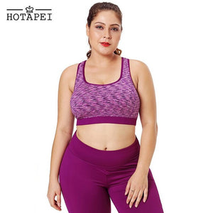 Breathable Wirefree Quick Dry Seamless Sports Bra - 4 Colours
