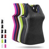 Fitted Spandex Quick Dry Exerciese Yoga Sports Gym Vest - 10 Colours