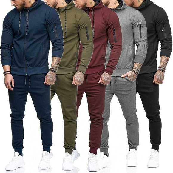 Matching Slim FIt Joggers and Top Set - 5 Colours