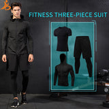3 Piece Dry Fit Running Set