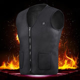 Electric Heated Light Weight Sports Body-Warmer - 6 Sizes