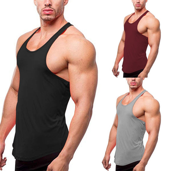 Muscle Fit Stringer Vest - 5 Colours