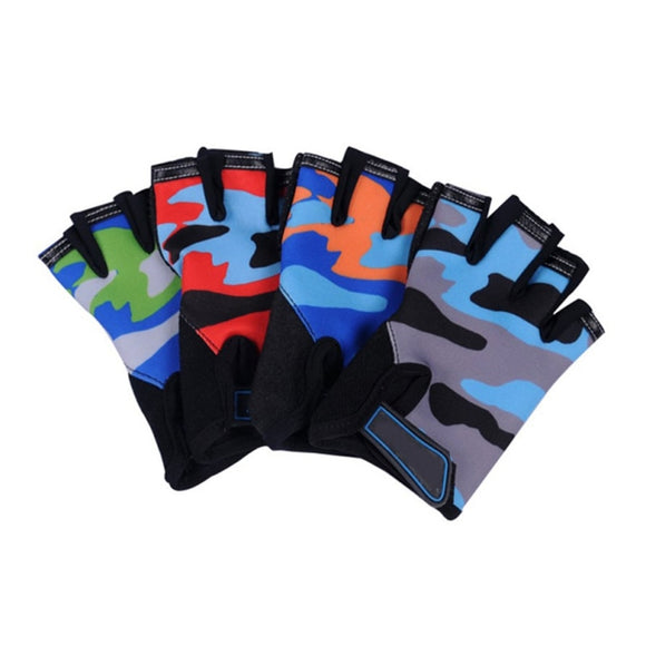 Half Finger Cycling Gloves Anti-slip Sports Gym and Fitness - 4 Colours