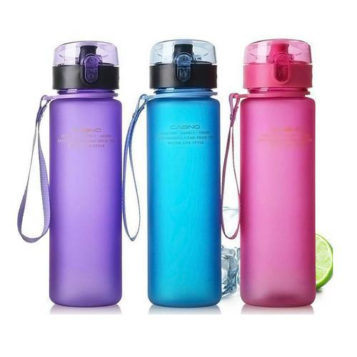 400ml Sports Water Bottle with Protective Cap - 4 Colours