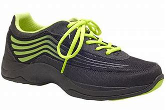 Dansko Shayla Black/Lime Athletic Shoe 4201-020246