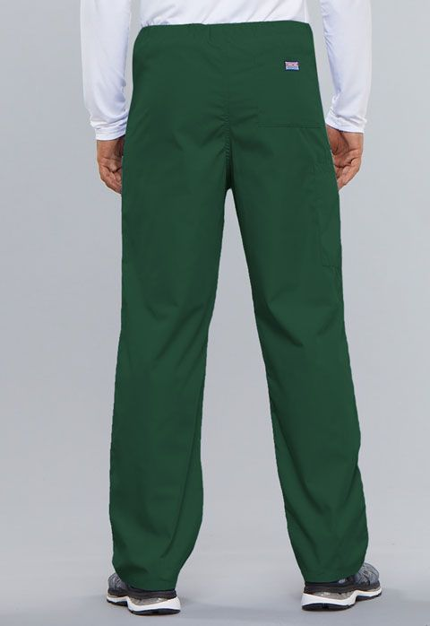 Cherokee Workwear Originals Unisex Drawstring Cargo Pant Hunter Green